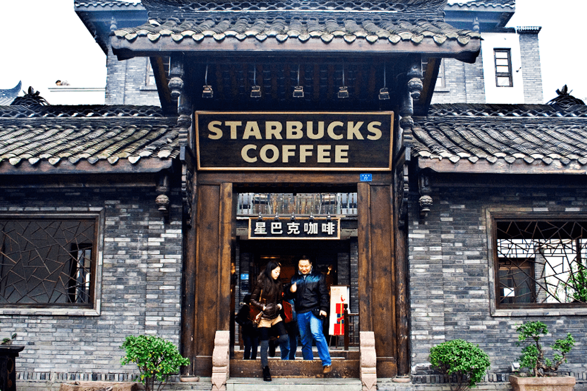 Starbucks u Kini